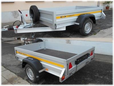 Alumínium áruszállító_1500kg össztömeg/180kg saját tömeg