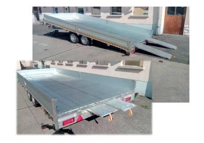 Munkagép-szállító billenős alumínium 2